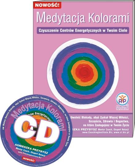 Medytacja Kolorami book and cd