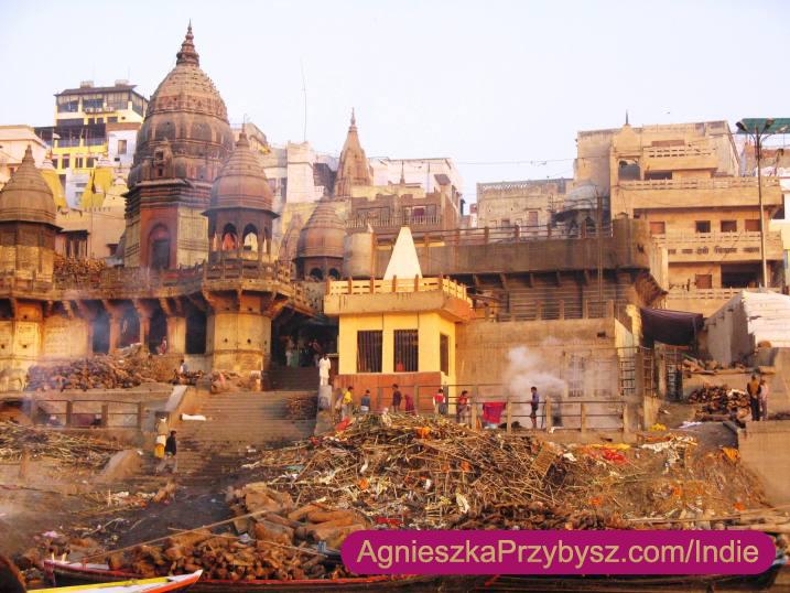 Ganges-Varanasi-kremacja