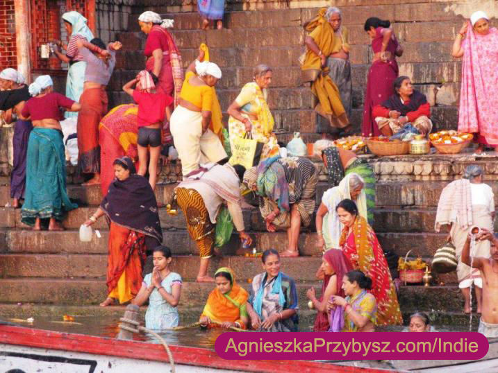 Varanasi-ghaty-Indie