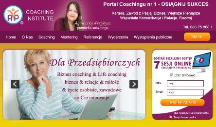 coaching-institute-nowy-wizerunek-Agnieszka-Przybysz-pionier-coachingu