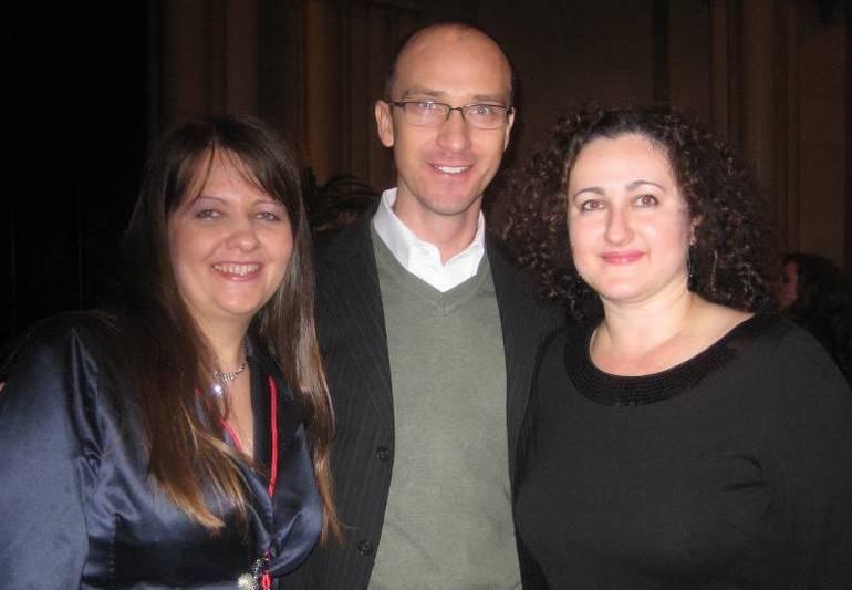 Milana, Adam and Agnieszka